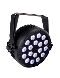 Projecteur LED 18 X 5 W RVBW Full Coulors