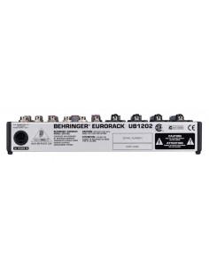 Console 12 entrées micro/ligne Ultra Low-Noise 2 bus