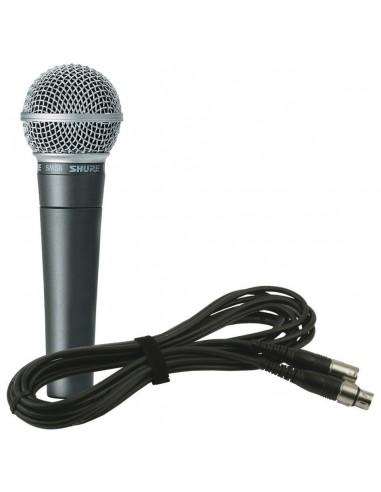 Microphone Dynamique SM-58 à Fils