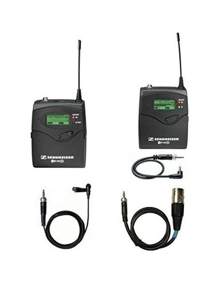 Ensemble Micro Cravate Sans Fils UHF pocket Camera
