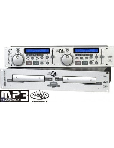 Double LECTEUR CD AUDIO + CD MP3