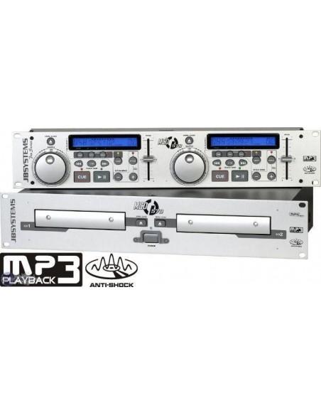 Double LECTEUR CD AUDIO + CD MP3
