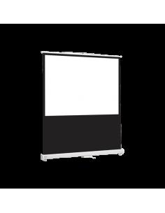 Ecran de projection Sol 150 x 112.50 cm Toile Blanc Mat