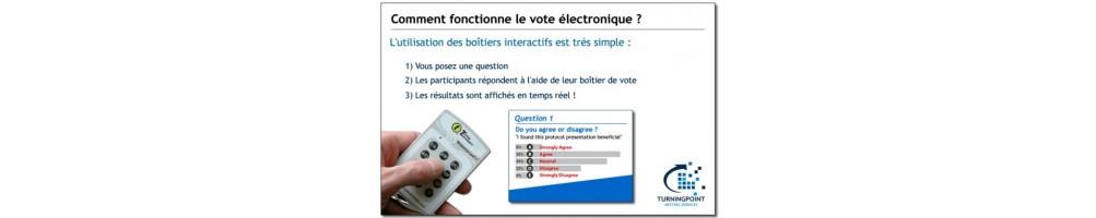 Location système vote interactif professionnel - pour professionnels et particuliers