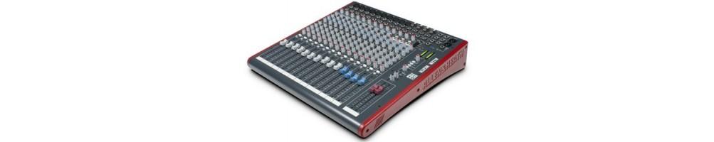 Location consoles de mixage - matériel professionnel - matériel sonorisation