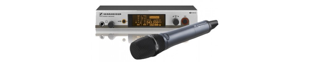 Location micros sans fils (HF) - matériel professionnel - matériel sonorisation